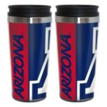 Arizona Wildcats 2-Pack Hype Travel Tumblers