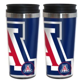 Arizona Wildcats 2-Pack Hype Travel Tumblers