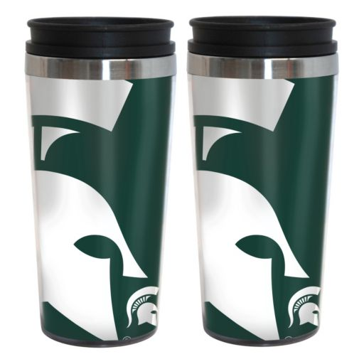Michigan State Spartans 2-Pack Hype Travel Tumblers