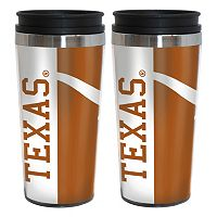 Texas Longhorns 2-Pack Hype Travel Tumblers