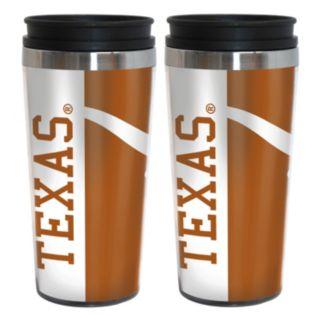 Texas Longhorns 2-Pack Hype Travel Tumblers