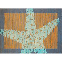 United Weavers Panama Jack Starfish Border Rug