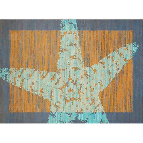 United Weavers Panama Jack Starfish Border Rug