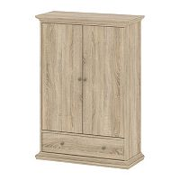 Tvilum Sonoma Oak Finish Wardrobe Closet