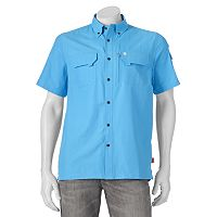 Men's Coleman Classic-Fit Solid Guide Performance Button-Down Shirt