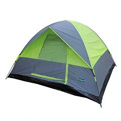 Stansport Pine Creek 3-Person Dome Tent (Gray Green)