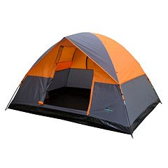 Stansport Teton 4-Person Dome Tent (Gray Orange)
