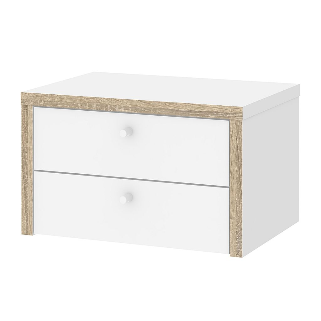 Tvilum Hamilton Desk 2-Drawer Hutch