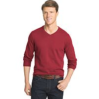 Big & Tall IZOD Fieldhouse Classic-Fit Wool-Blend V-Neck Sweater