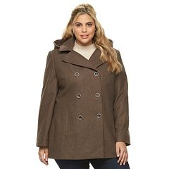 Womens Brown Wool & Wool Blend Coats & Jackets - Outerwear ...