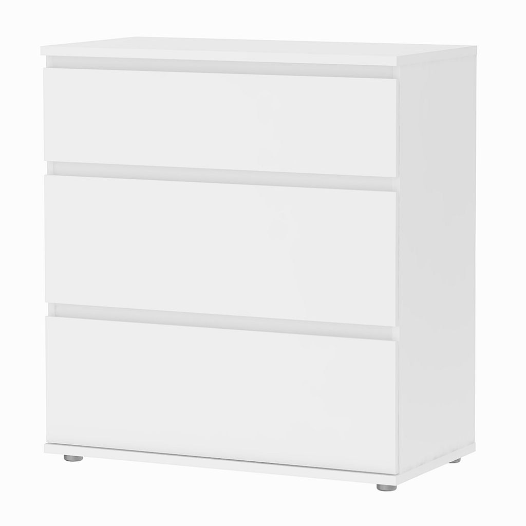 Tvilum Aurora Wide 3-Drawer Dresser