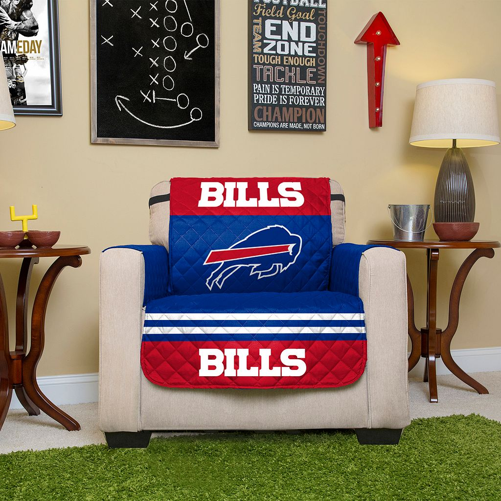 Buffalo Bills Quilted Chair Cover
