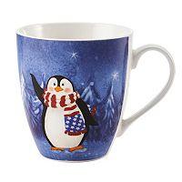 Pfaltzgraff Patriotic Penguin Mug