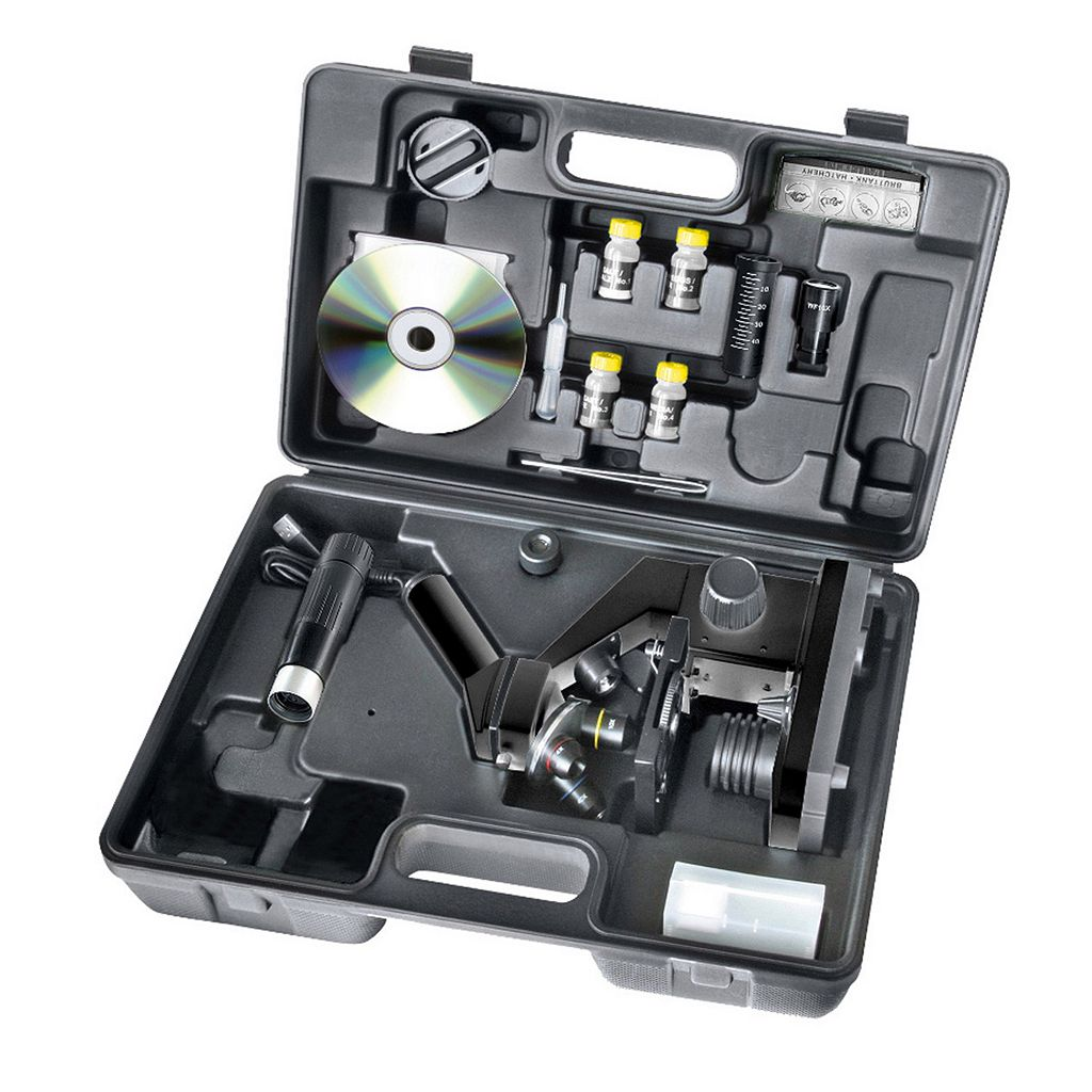 National Geographic 40x1024mm Microscope with USB Eye Piece