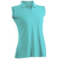 Women's Nancy Lopez Grace Sleeveless Golf Polo