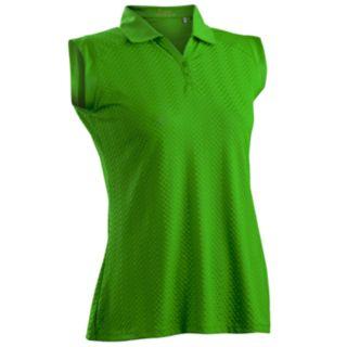 Women's Nancy Lopez Grace Sleeveless Golf Polo