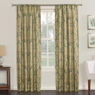 Nevada Faux Silk Window Curtain