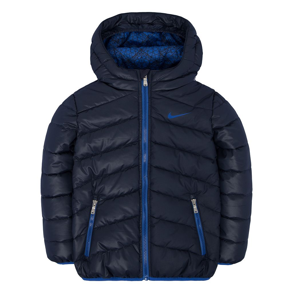 Boys 4-7 Nike Hooded Puffer Jacket