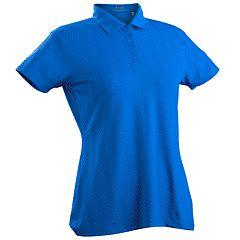 Women's Nancy Lopez Grace Short Sleeve Golf Polo
