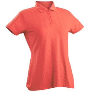 Women's Nancy Lopez Grace Short Sleeve Golf Polo