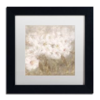 Trademark Fine Art Wild Flowers I Matted Framed Wall Art