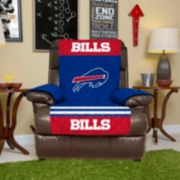Buffalo Bills Quilted Recliner Chair Cover