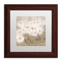 Trademark Fine Art Wild Flowers I Framed Wall Art