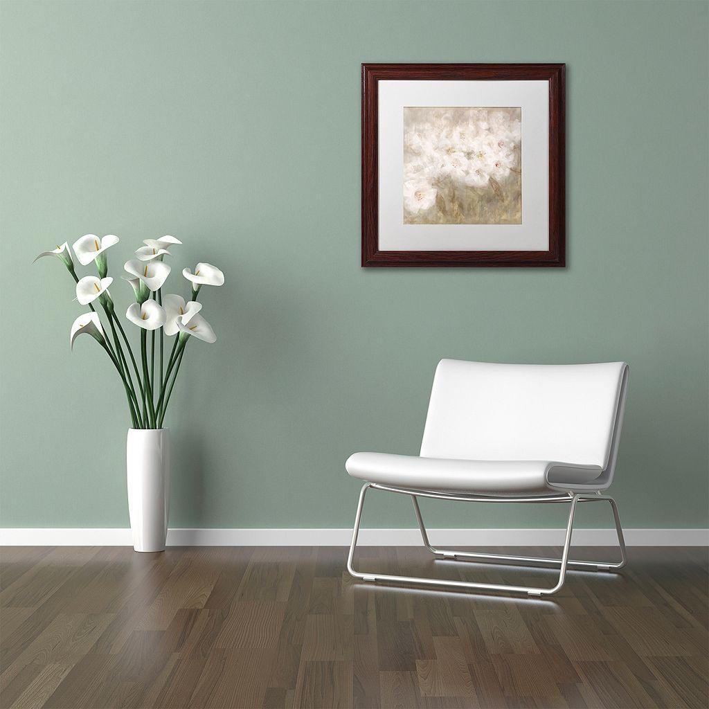 Trademark Fine Art Wild Flowers I Framed Wall Art