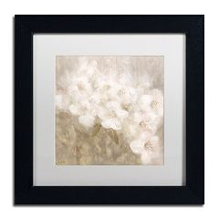 Trademark Fine Art Wild Flowers II Framed Wall Art