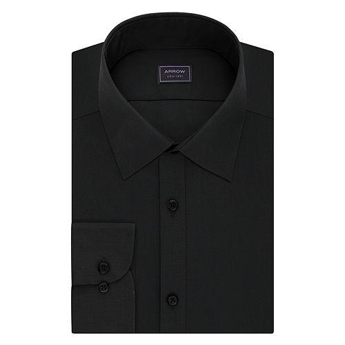 Men's Arrow Slim-Fit Poplin Wrinkle-Free Dress Shirt