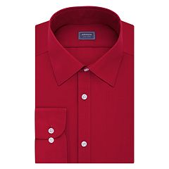 Men's Arrow Slim-Fit Poplin Wrinkle-Free Dress Shirt