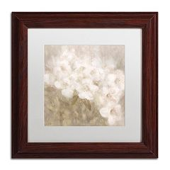 Trademark Fine Art Wild Flowers II Matted Framed Wall Art