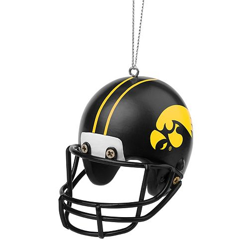 - Forever Collectibles Iowa Hawkeyes Helmet Christmas Ornament