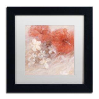 Trademark Fine Art Hibiscus II Framed Wall Art