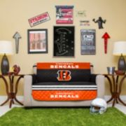 Cincinnati Bengals Quilted Loveseat Cover