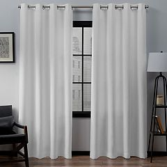 Exclusive Home 2-pack Loha Window Curtains