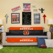 Cincinnati Bengals Quilted Sofa Cover