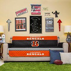 Cincinnati Bengals Quilted Sofa Cover