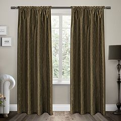 Exclusive Home 2-pack Saturn Window Curtains