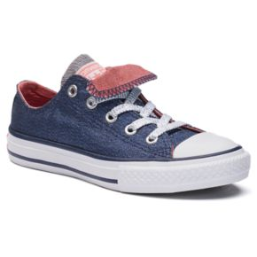 Kids' Converse Chuck Taylor All Star Shimmering Double-Tongue Shoes