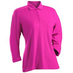 Women's Nancy Lopez Grace 3/4-Sleeve Golf Polo