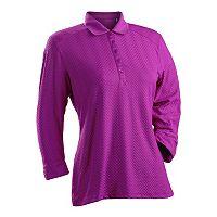 Women's Nancy Lopez Grace 3/4-Sleeve Golf Polo