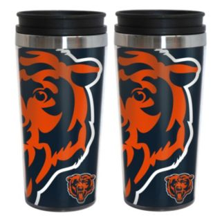 Chicago Bears 2-Pack Hype Travel Tumblers