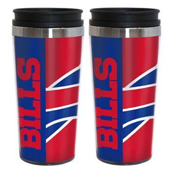 Buffalo Bills 2-Pack Hype Travel Tumblers