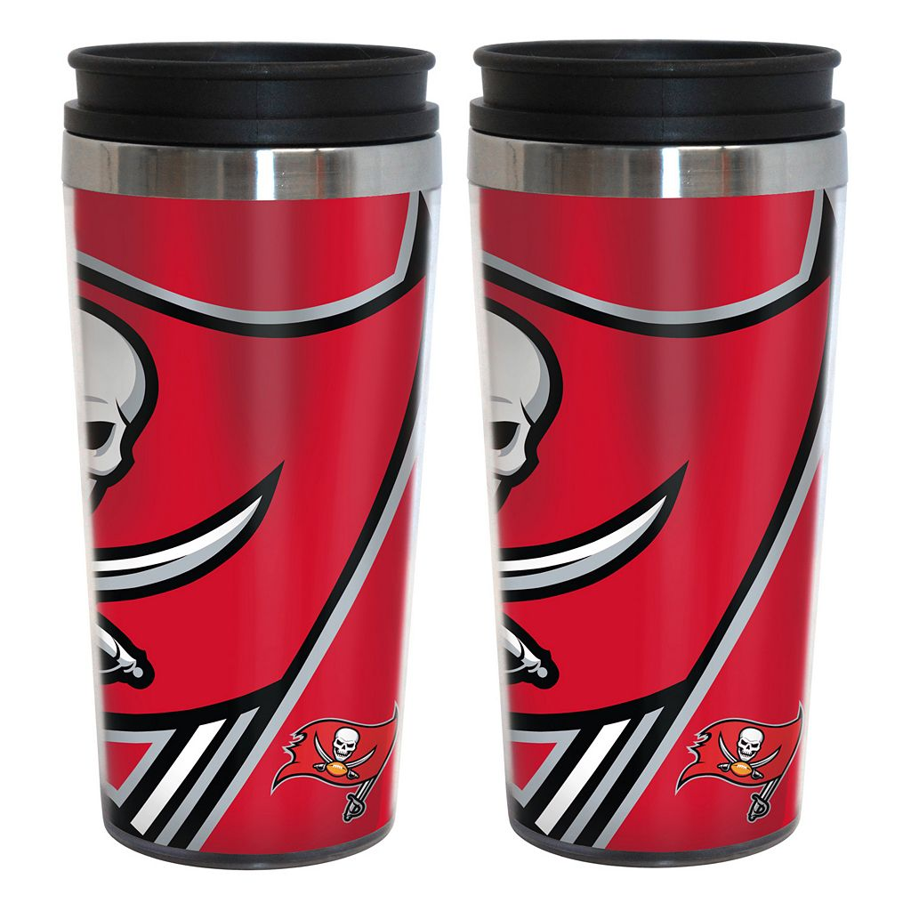 Tampa Bay Buccaneers 2-Pack Hype Travel Tumblers