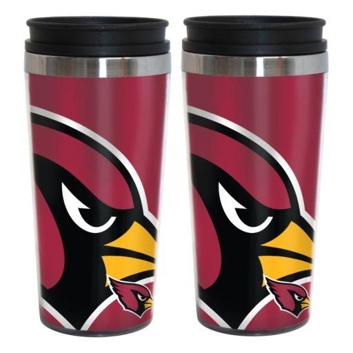 Arizona Cardinals 2-Pack Hype Travel Tumblers