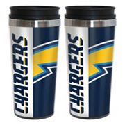 San DiegoChargers 2-Pack Hype Travel Tumblers