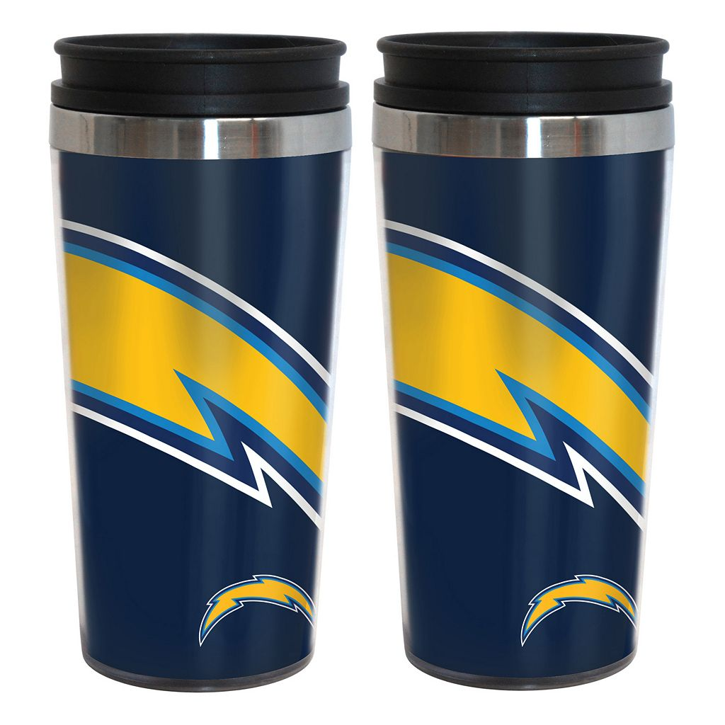 San Diego Chargers 2-Pack Hype Travel Tumblers