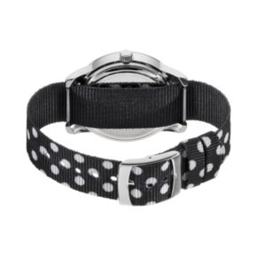 Disney's Minnie Mouse Bow Women's Polka Dot Reversible Watch