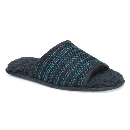 MUK LUKS Men's Andy Sweater Slide Slippers